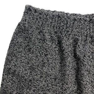 a143547e04 J. Crew Factory Skirts - J. Crew Black Herringbone Sidewalk Mini Skirt
